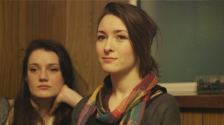 Aoife Spratt and Maggie Donovan as Angie and Jenny