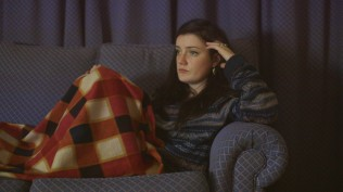 Maggie Donovan as Angie's sister Jenny.